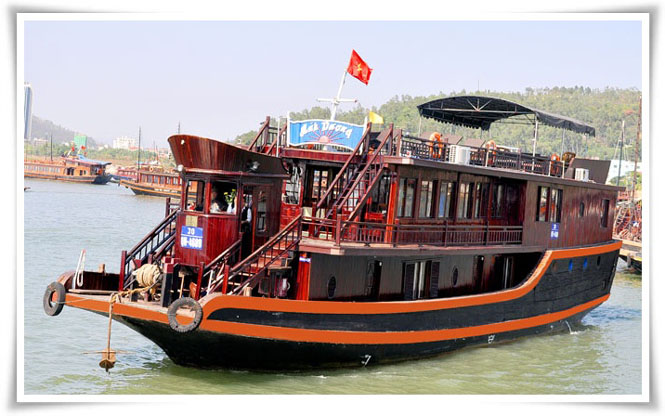 Halong Anh Duong cruise 2 days 1 night