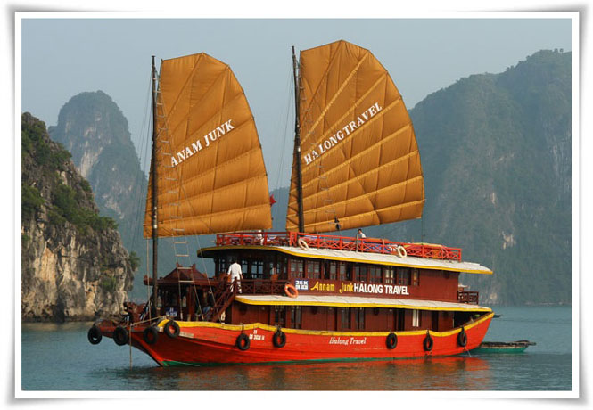 Halong Halong Annam cruise 3 days 2 nights