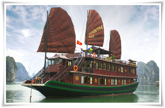 Halong Elizabeth cruise 3 days 2 nights