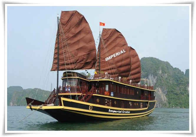 Halong Imperial cruise 2 days 1 night