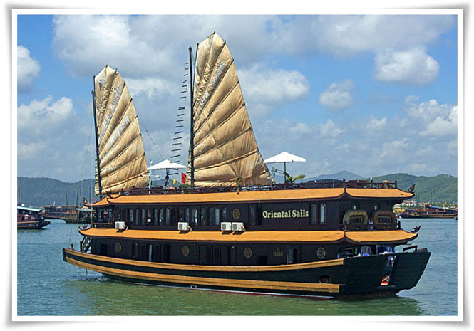 Halong Oriental Sails cruise 3 days 2 nights