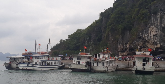 Halong authorities tighten management on tourist boats
